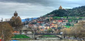 Photo of Tbilisi by Roberto Strauss